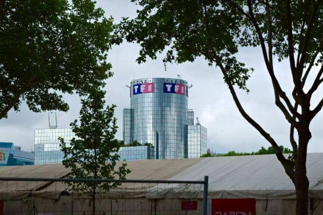 L'immeuble TF1.