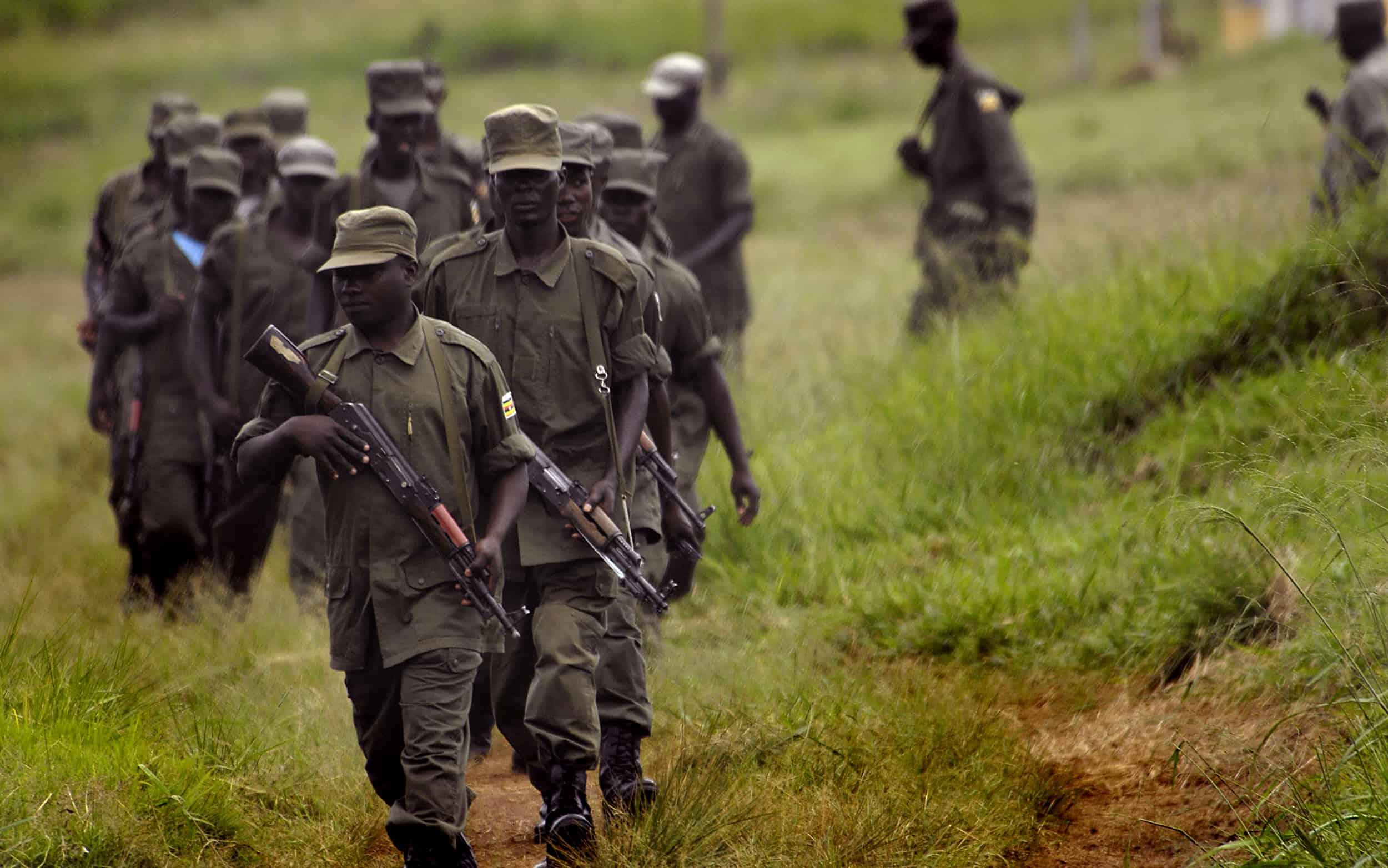 Soldats ougandais