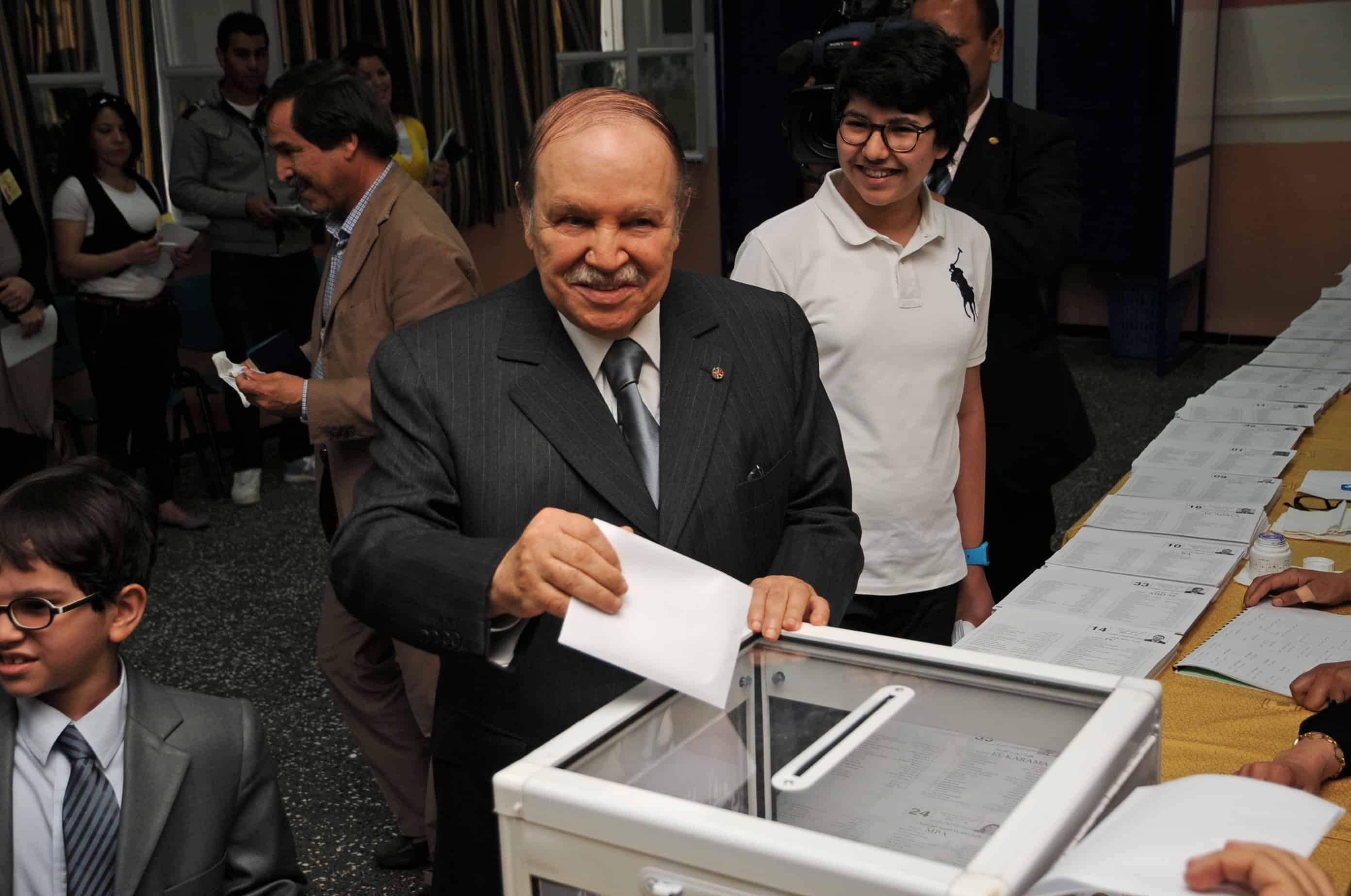 Abdelaziz Bouteflika, le président algérien