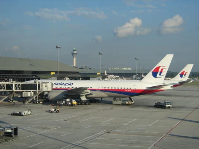 Boeing 777-200 de la Malaysia Airlines, Kuala Lumpur