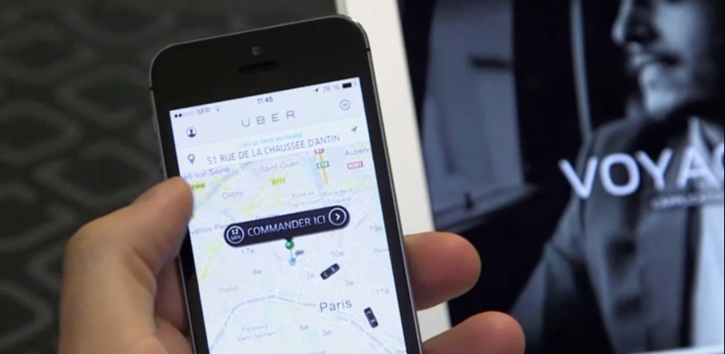 La société de VTC Uber