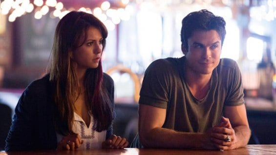 Elena et Damon, The Vampire Diaries