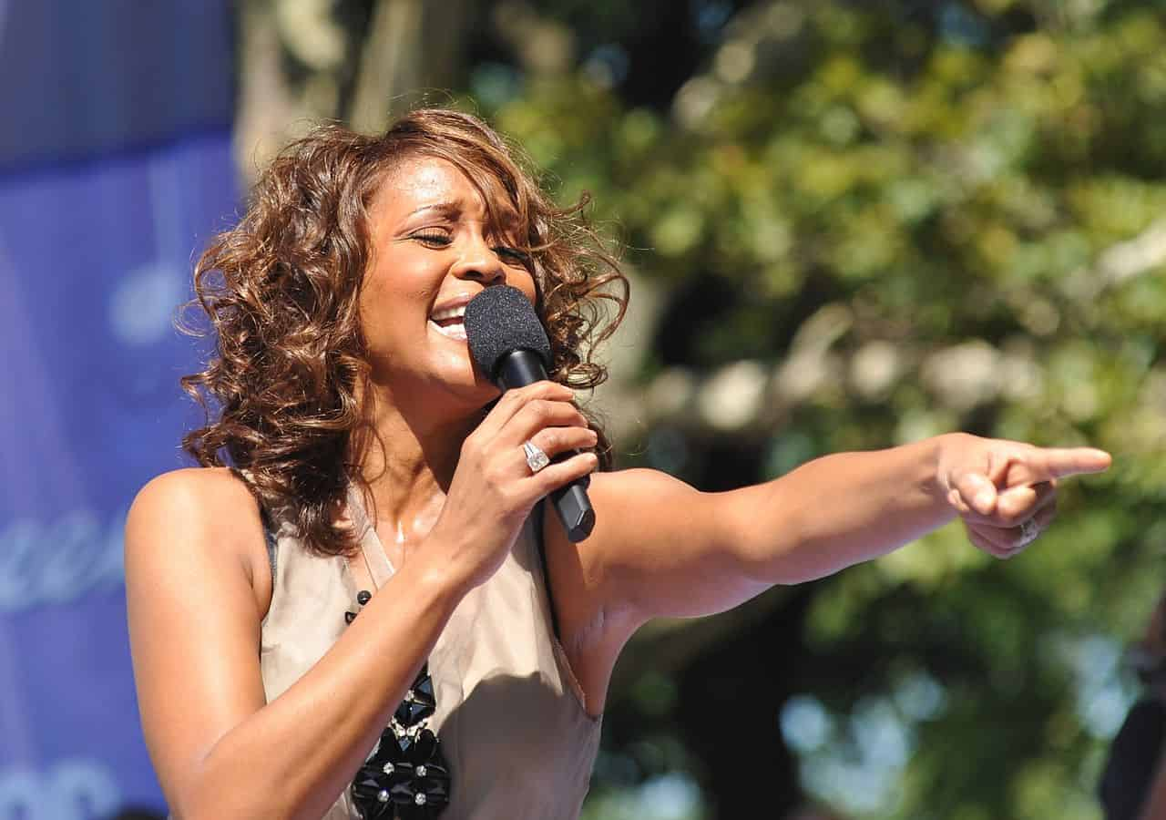 Whitney Houston en 2009