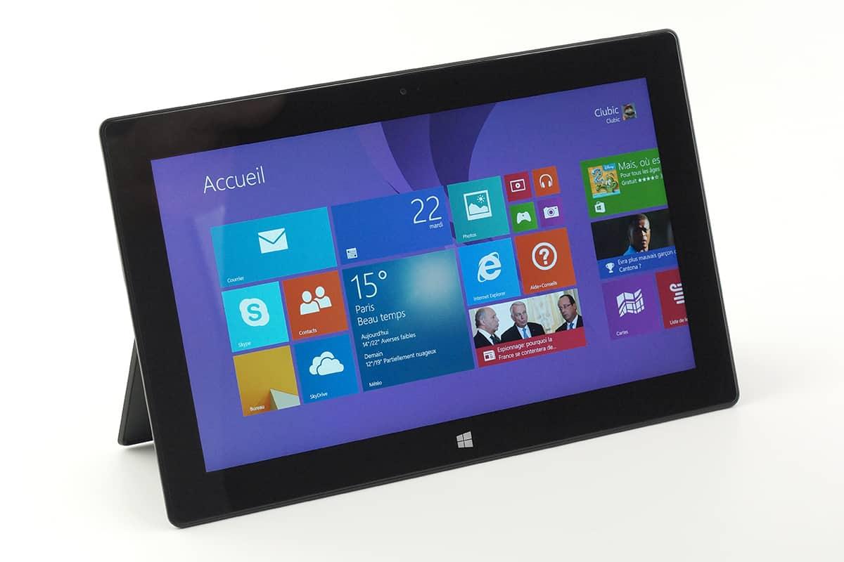 La Surface, la tablette de Microsoft