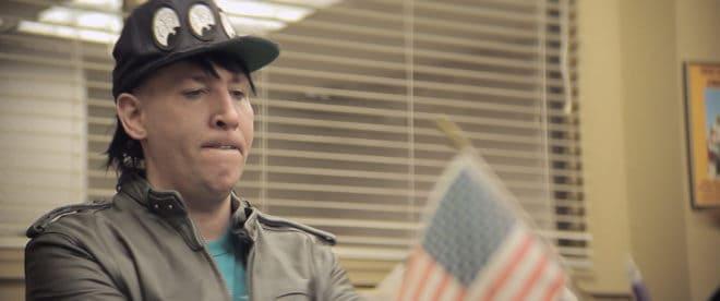 Marilyn Manson dans le film Wrong Cops