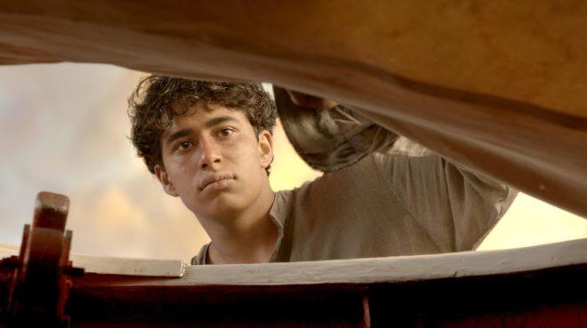 Suraj Sharma dans L'Odyssée de Pi