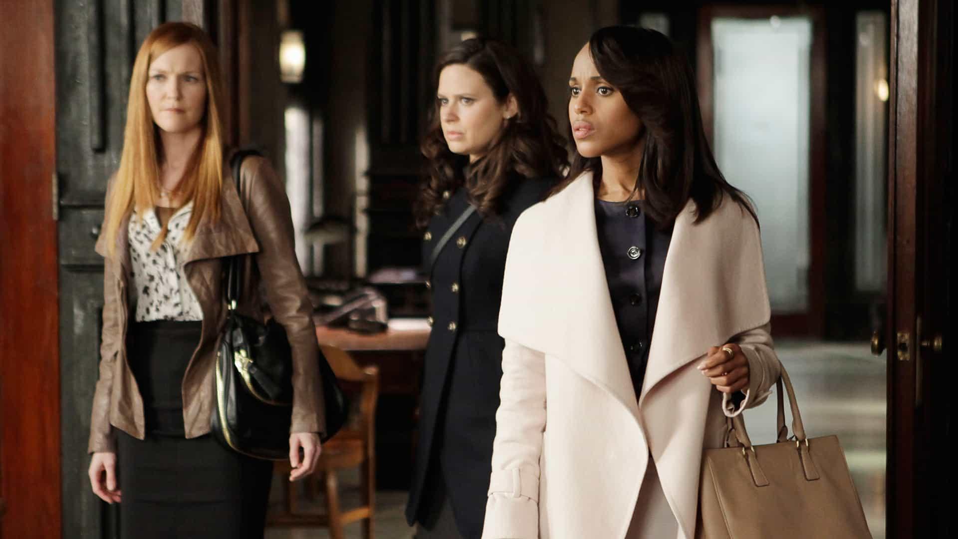 Kerry Washington prête ses traits à Olivia Pope dans la série Scandale