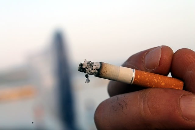 Photo d'illustration. Une cigarette.