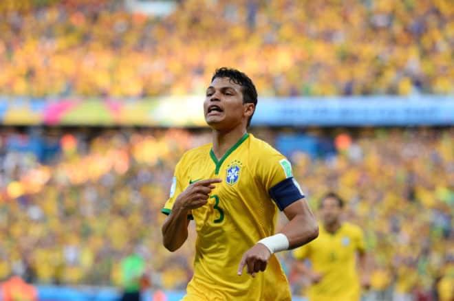 Thiago Silva montre la voie aux siens contre la Colombie