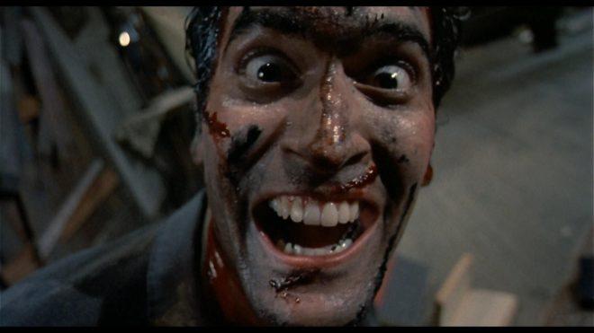 Evil Dead de  Sam Raimi avec Bruce Campbell