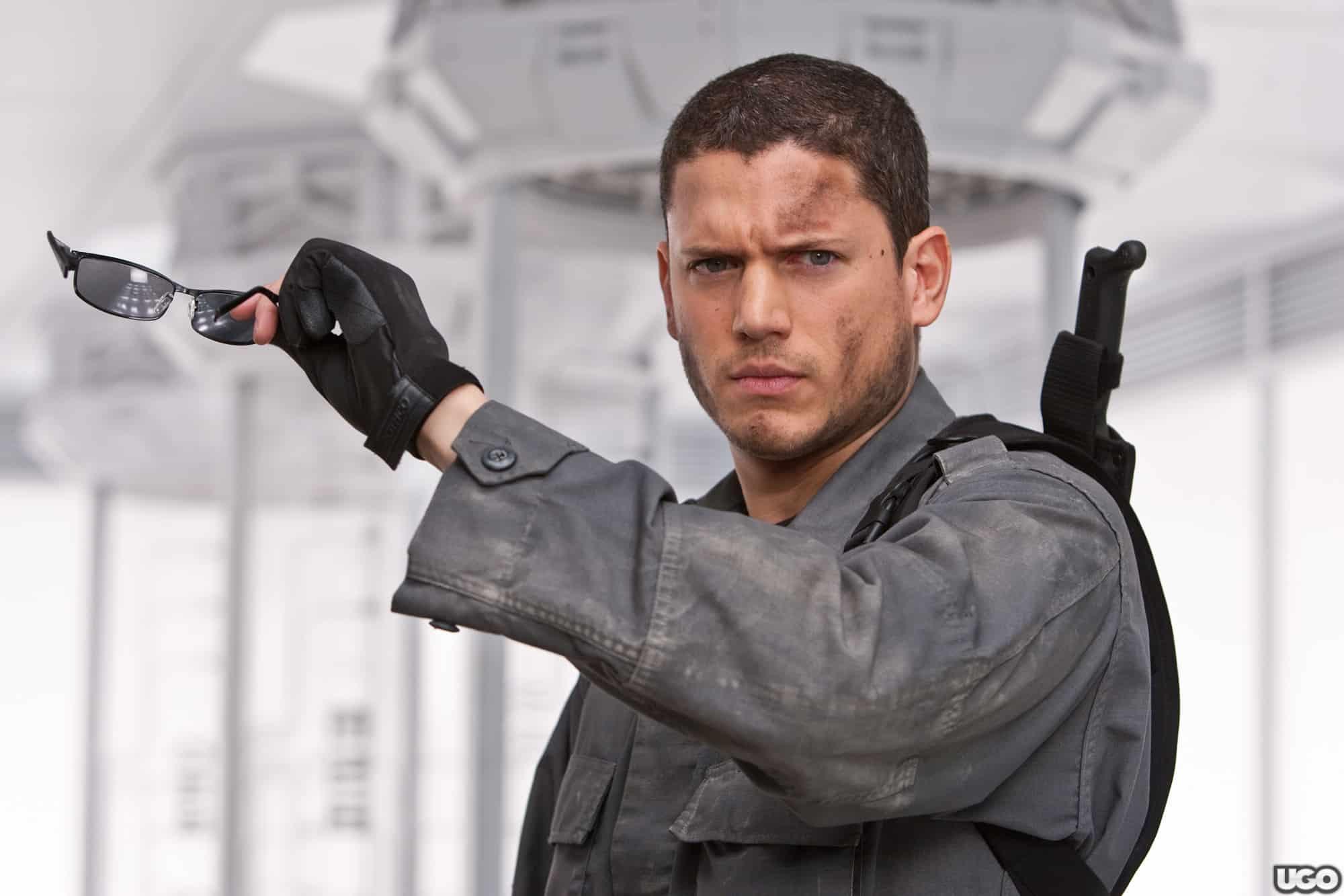 Wentworth Miller dans le film Resident Evil : Afterlife