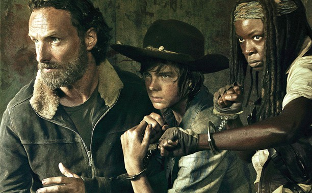 The Walking Dead, poster promotionnel de la saison 5
