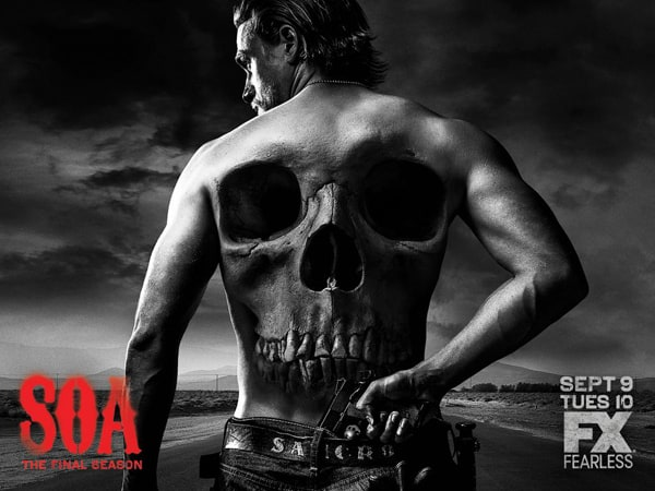 Poster promotionnel Sons of Anarchy saison 7