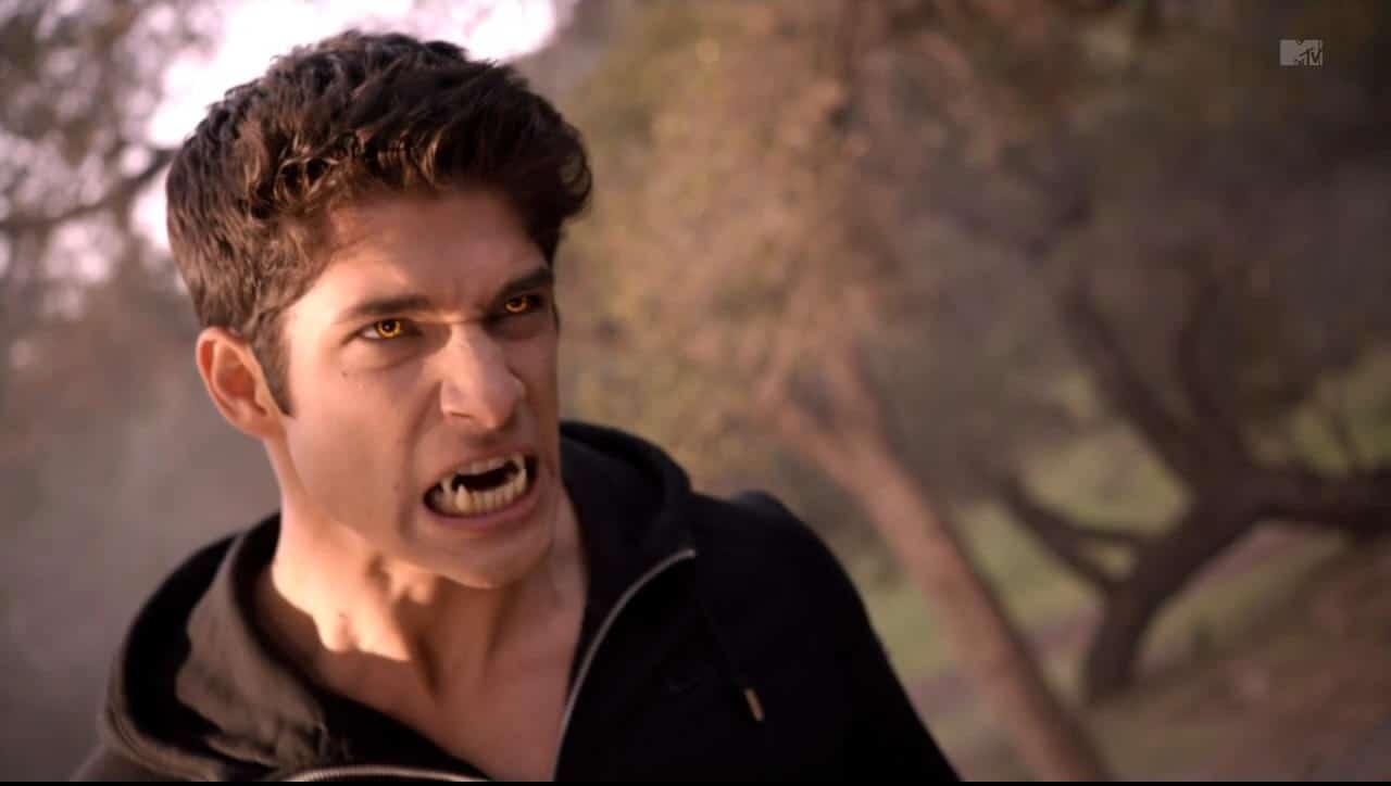 Tyler Posey dans Teen Wolf saison 4