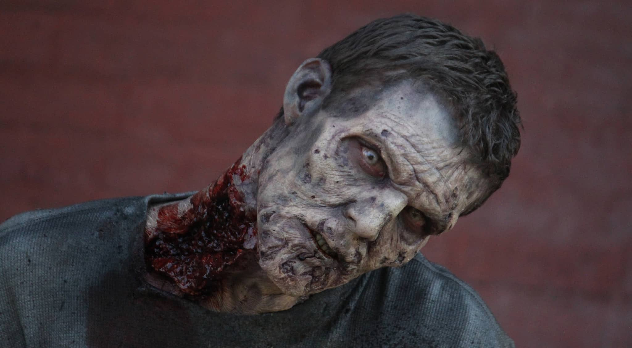 Un zombie de la saison 5 de The Walking Dead