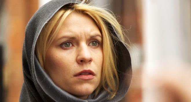 Claire Danes dans la série Homeland