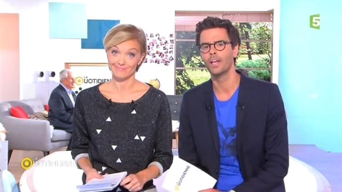 tpmp julien courbet re oit maya lauqu et thomas isle. Black Bedroom Furniture Sets. Home Design Ideas