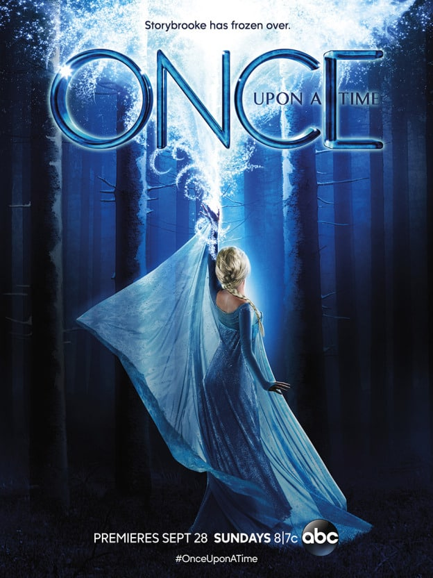Once Upon a Time saison 4, poster promotionnel