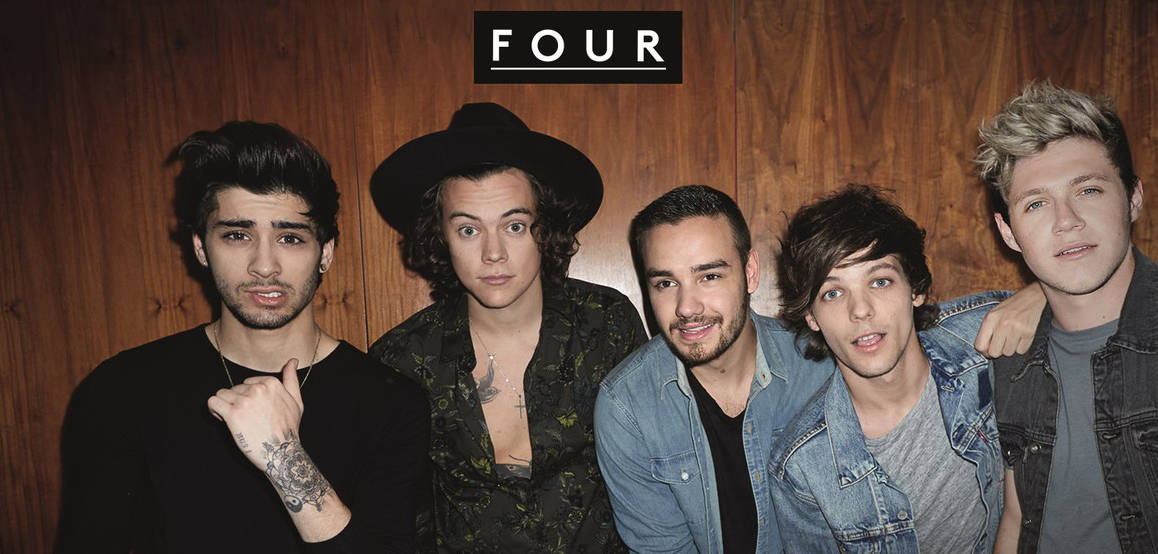 "One Direction, pochette de l'album ""Four"""