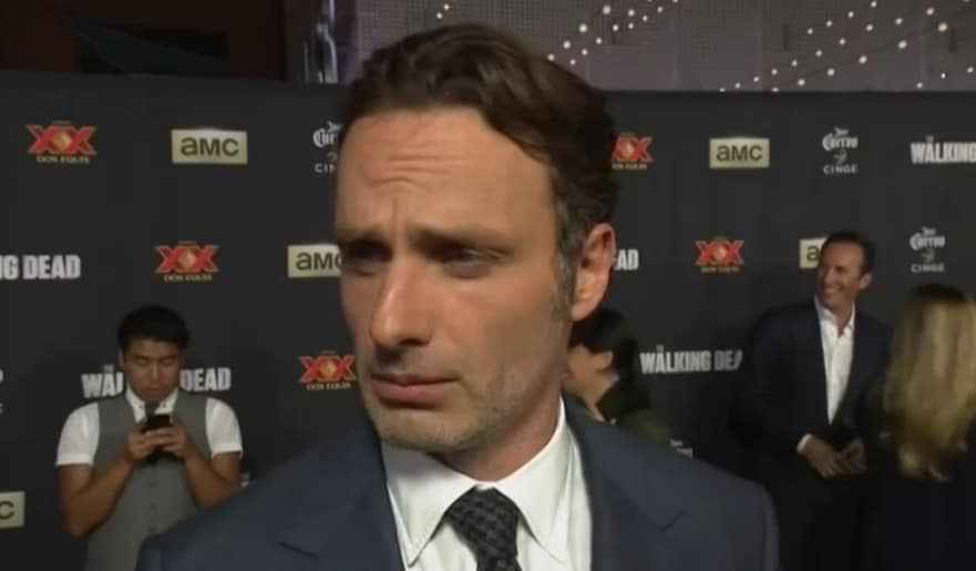 "Andrew Lincoln, Rick Grimes dans ""The Walking Dead"""