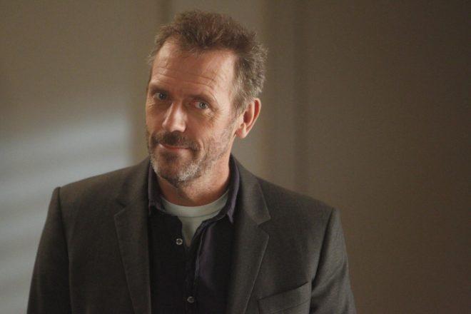 Hugh Laurie dans la série Dr House
