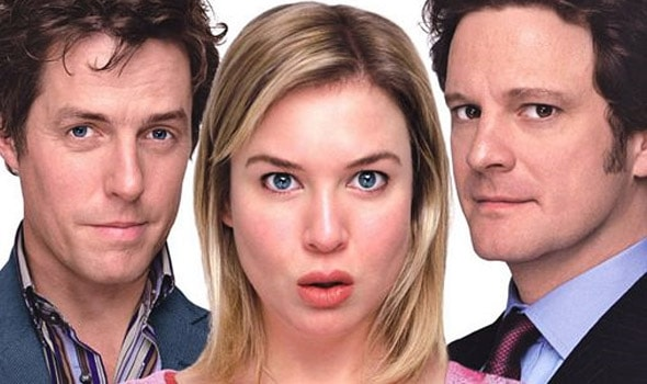 "Hugh Grant, Renée Zellweger et Colin Firth dans ""Le Journal de Bridget Jones"""