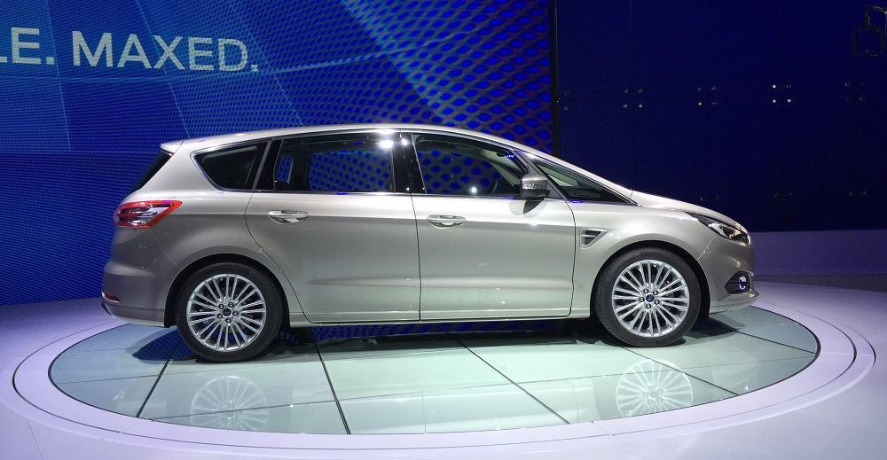 La nouvelle Ford S-MAX, capturée ce jour au Mondial de l'Auto.