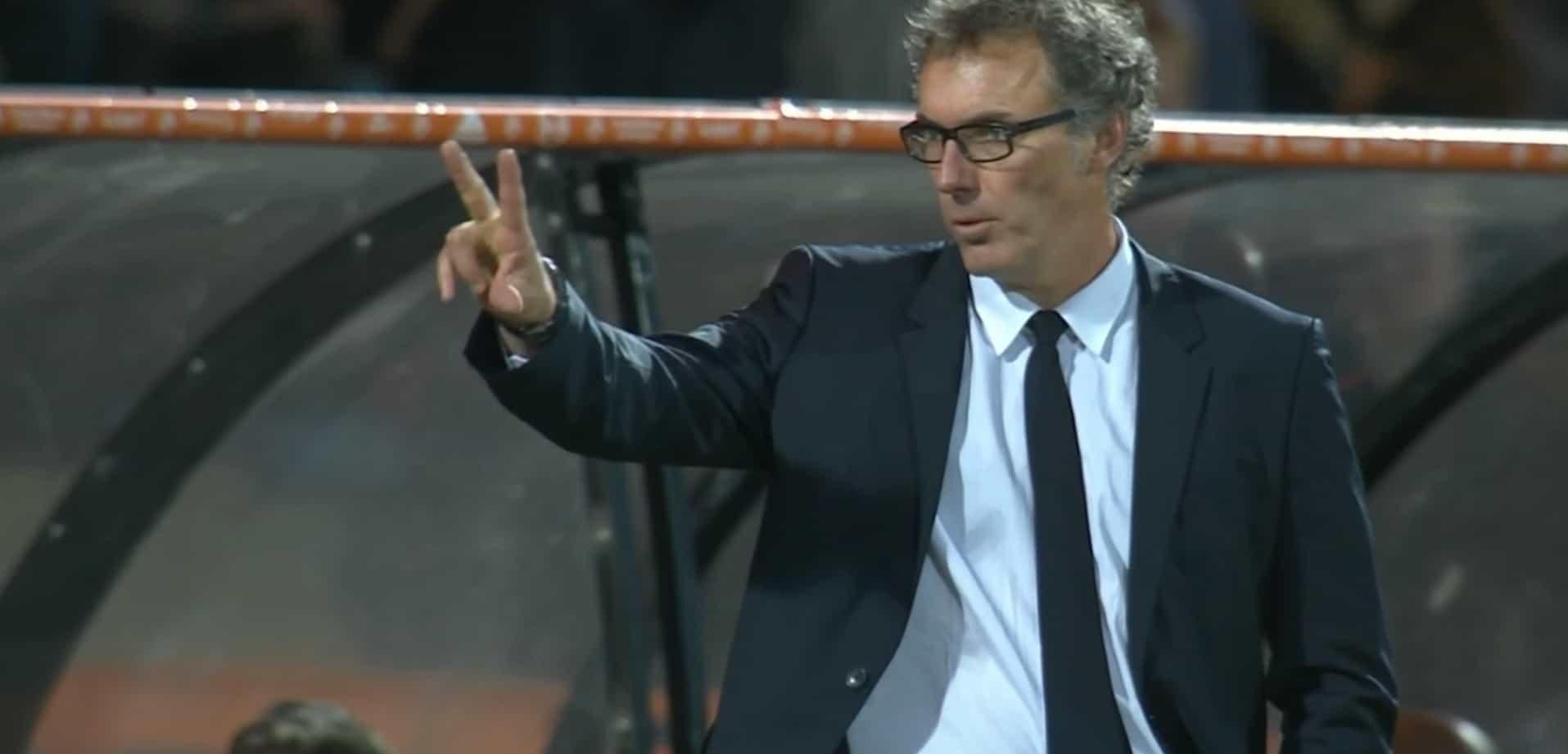 Laurent Blanc, entraîneur du PSG