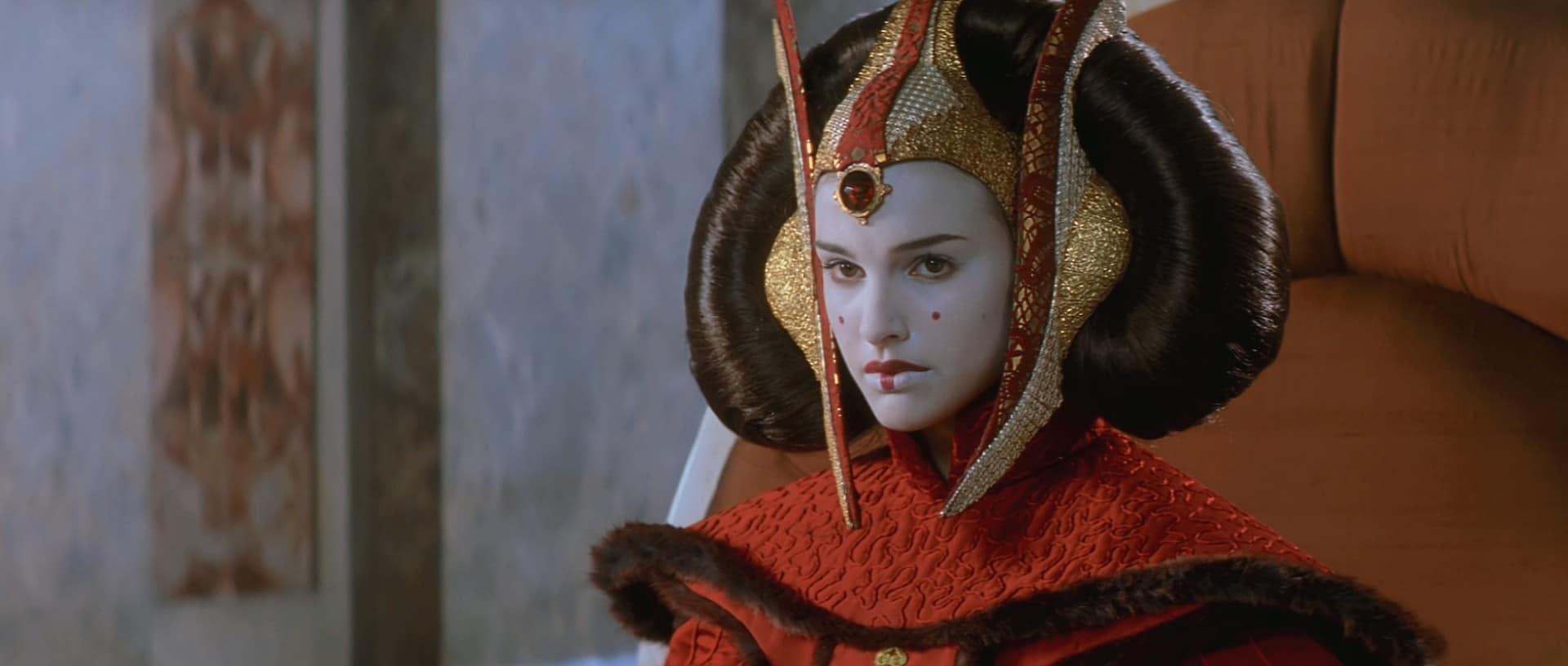 Natalie Portman dans Star Wars