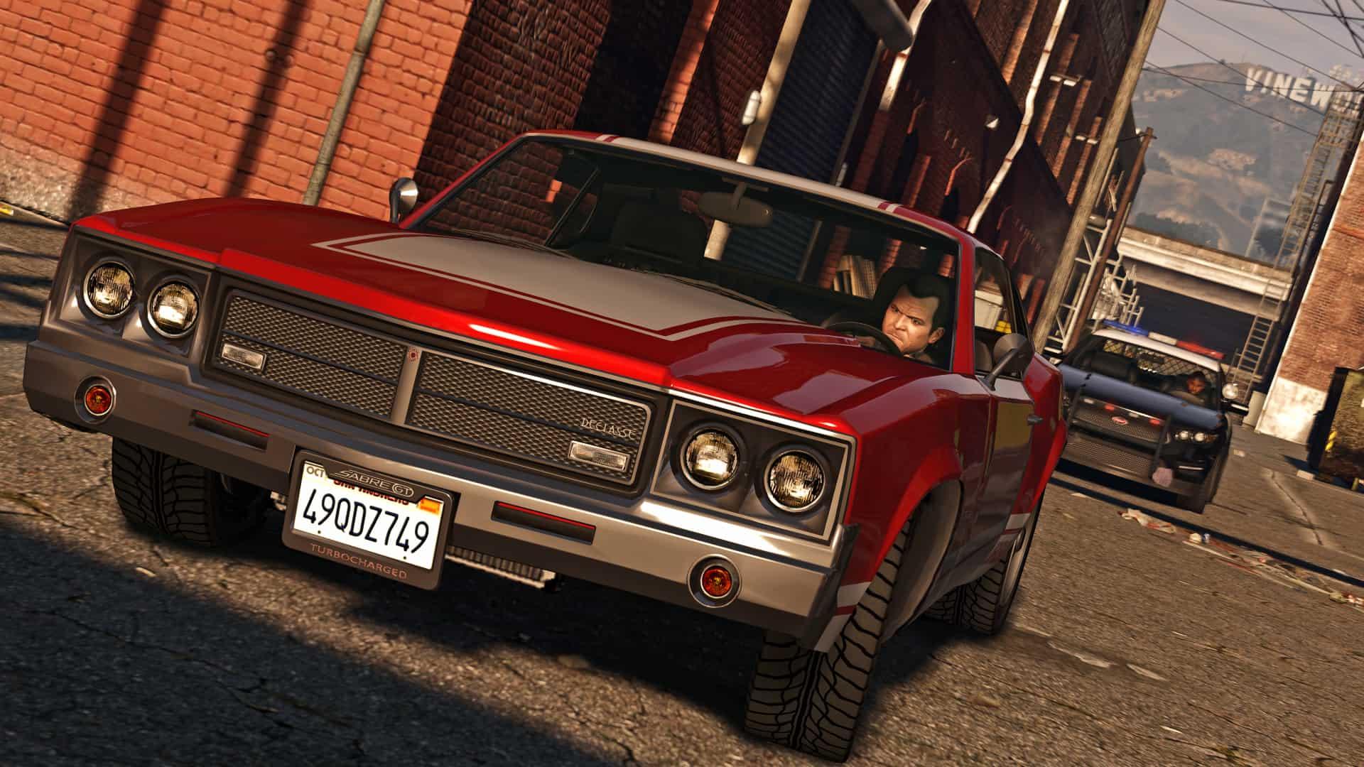 GTA V dans sa version PC