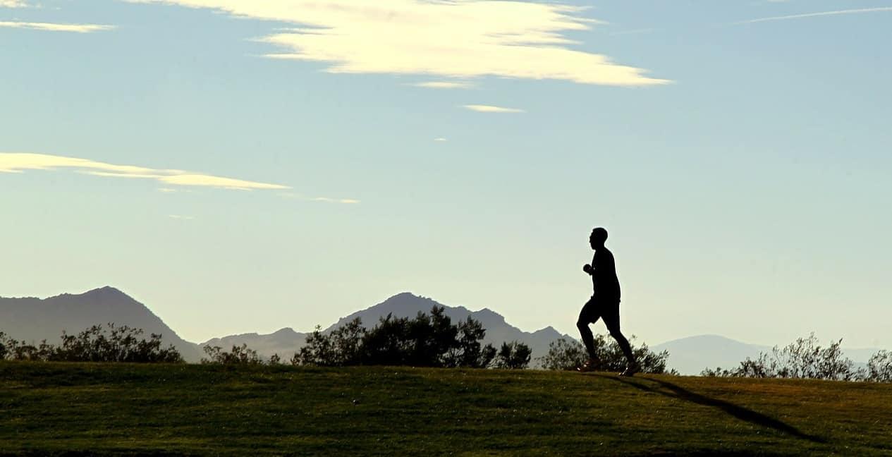 Photo d'illustration. Un joggeur.