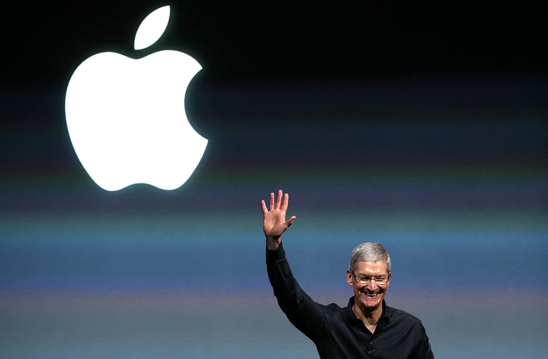 Tim Cook, le dirigeant de Apple