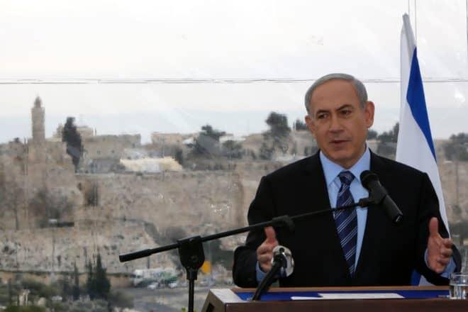 Le Premier ministre israélien Benjamin Netanyahu à Jérusalem, le 23 février 2015