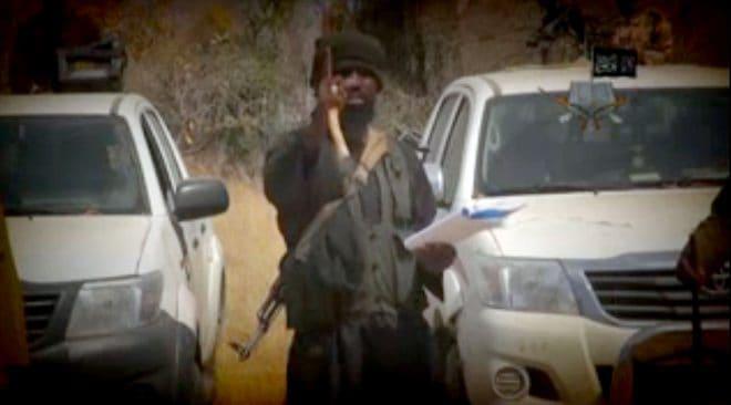 Abubakar Shekau, le chef de Boko Haram, dans une vidéo