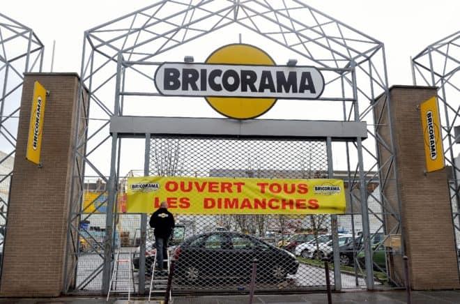 Un magasin de bricolage ouvert le dimanche à Lille le 3 janvier 2014