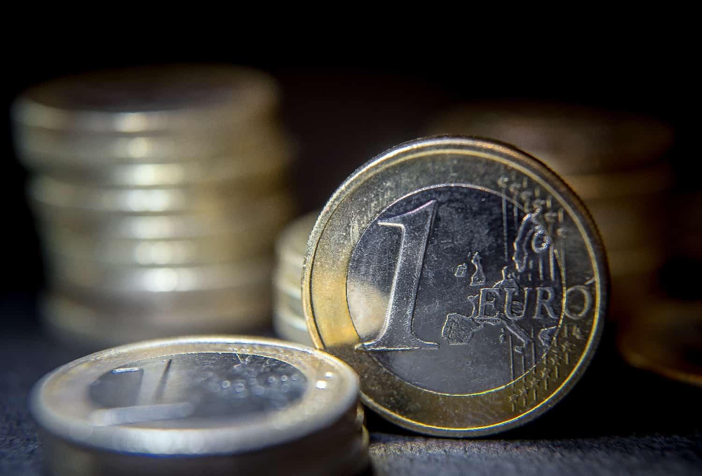 Des pièces de 1 euro (photo d'illustration)