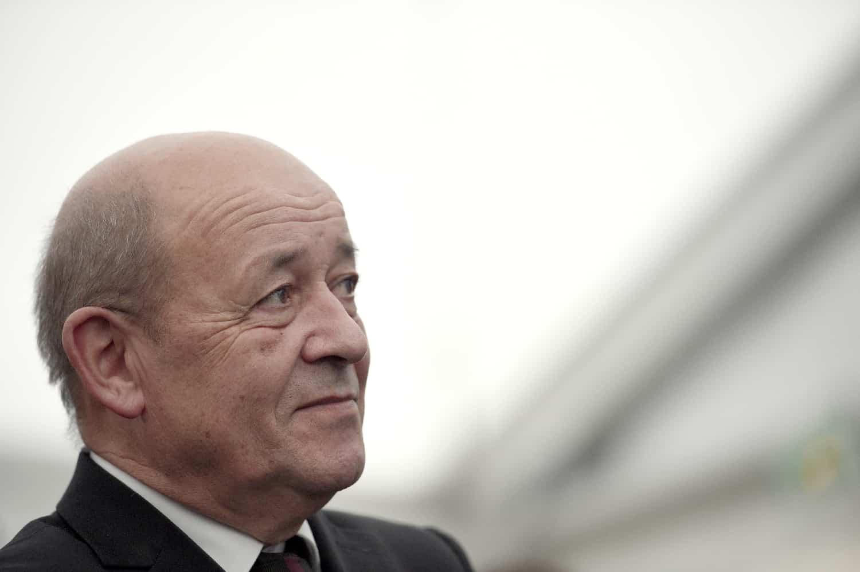 Le ministre de la Défense Jean-Yves Le Drian le 19 décembre 2015 à Rennes