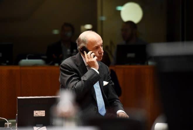 Laurent Fabius, le chef de la diplomatie française