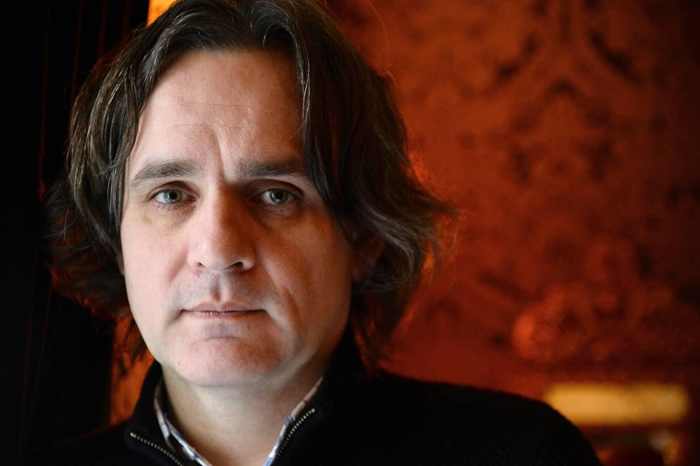 Laurent Sourisseau, alias Riss, nouveau patron de Charlie Hebdo, le 24 février 2015 à Paris