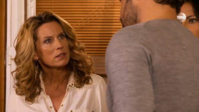 """Audrey et Daniel (Les Mystères de l'Amour saison 8, épisode 13 """"Coups du sort"""")"""
