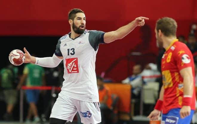 Nikola Karabatic de l'équipe de France de handball