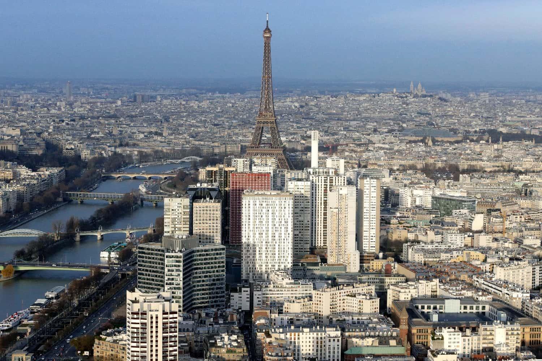 Vue générale de Paris en date du 11 janvier 2015