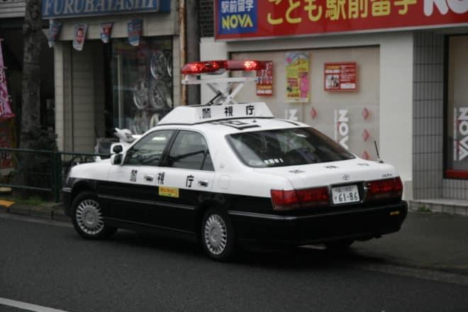 Police japonaise. Image d'illustration.