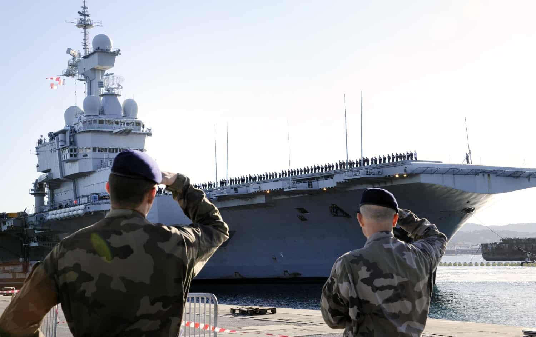 La mission du porte avions charles de gaulle prolong e - Actualite porte avion charles de gaulle ...