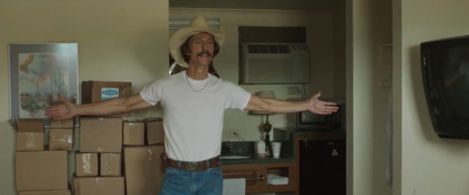 "Matthew McConaughey dans ""Dallas Buyers Club"""