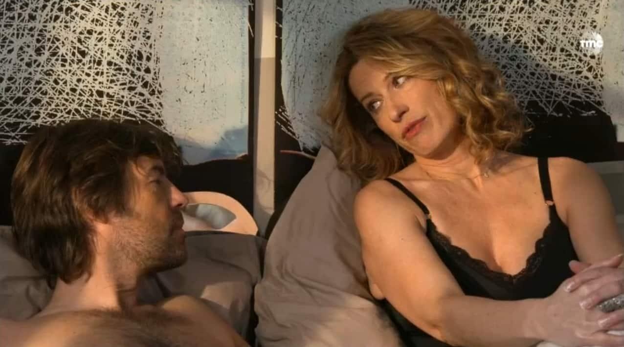 """Étienne et Audrey (Les Mystères de l'Amour saison 9, épisode 1 """"Nouvelles donnes"""""""