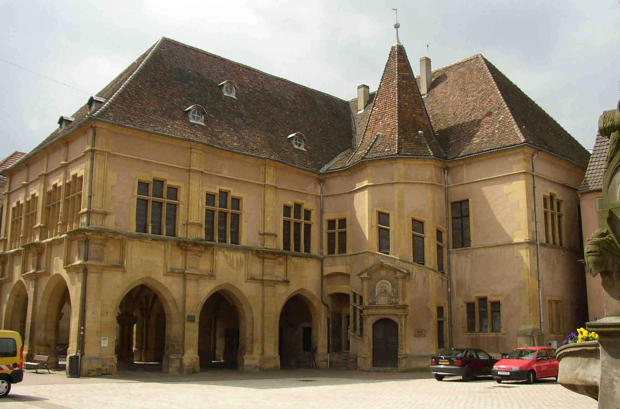 La ville d'Ensisheim