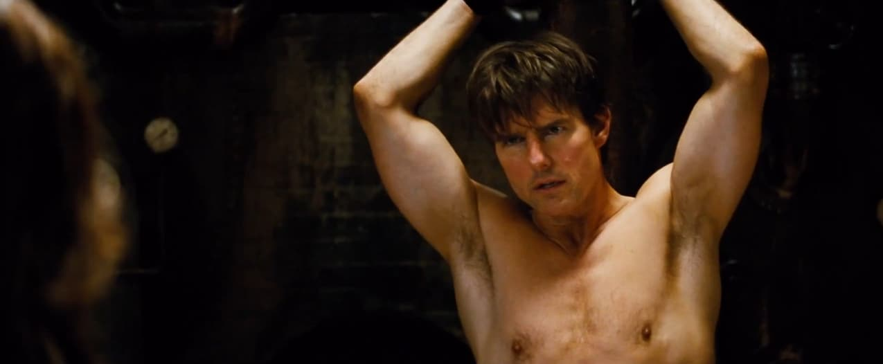 "Tom Cruise dans ""Mission : Impossible 5 - Rogue Nation"""