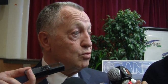 Jean-Michel Aulas, président de l'Olympique Lyonnais