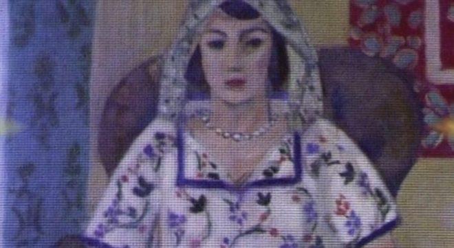 """""""Femme assise"""" de Matisse"""